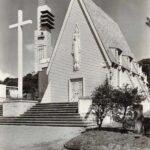 Postcard photo of All Hallows church